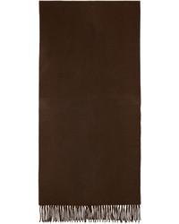 Brown canada narrow scarf medium 700629