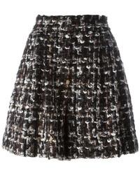 Dolce & Gabbana Boucl A Line Shorts
