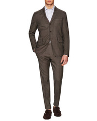 Boglioli Pindot Wool Notch Lapel Suit