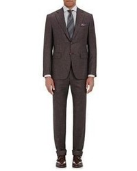 Canali Houndstooth Two Button Suit