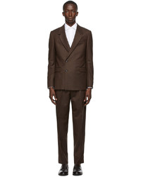 Z Zegna Wool Solid Suit