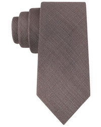 Black Brown 1826 Silk And Wool Tie