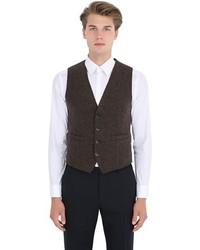 Barena Wool Blend Fortera Jersey Vest