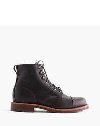 J.Crew Original Chippewa For Cap Toe Boots