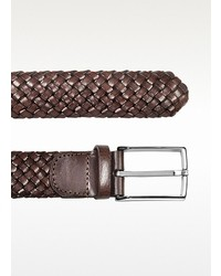 Forzieri Brown Woven Leather Belt