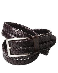 Circa Merona Braided Leather Belt Brown Xl