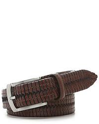 Cremieux Braided Leather Belt