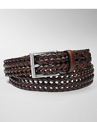 Fossil Myles Casual Braided Leather Belt