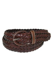 Rolfs Canterbury Braided Casual Leather Belt For Black 40