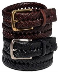 Tommy Hilfiger Belt Braided Leather Belt