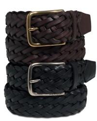 Tommy Hilfiger Belt Braided Leather