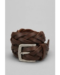 Urban Outfitters Braided Leather Belt