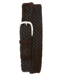 Orciani Winter Suede Woven Belt