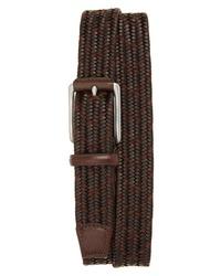Torino Belts Woven Mixed Media Belt