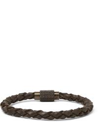 Polo Ralph Lauren Woven Leather Bracelet