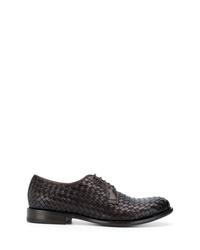Tagliatore Woven Derby Shoes