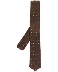 Eleventy Dotted Woven Neck Tie