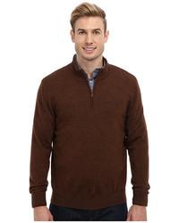 Pendleton Ls Merino 14 Zip Sweater