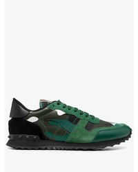 Valentino Rockrunner Camouflage Low Top Sneakers
