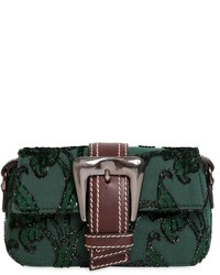 Rochas Small Buckle Fil Coup Shoulder Bag