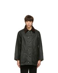 Barbour Green Beaufort Wax Jacket