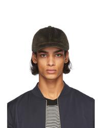 A.P.C. Khaki Corduroy Charlie Hat