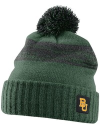 Nike Baylor Bears Striped Knit Beanie Adult
