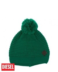 Diesel mora beanie green olive medium 114601