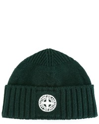 Stone Island Kids Embroidered Logo Beanie