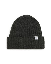 Norse Projects Wide Rib Wool Beanie