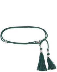 Lanvin Tasseled Rope Belt