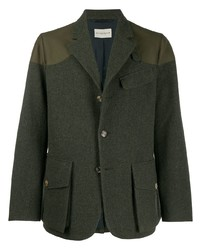 Holland & Holland Four Button Jacket With Patches