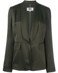 Mm6 maison margiela one button blazer medium 796650
