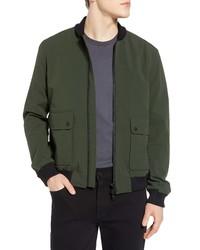 Oliver Spencer Bermondsey Slim Fit Bomber Jacket