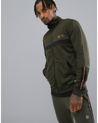Jack & Jones Core Perfromance Track Top With Chest And Sleeve Detail