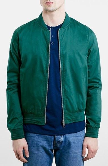 2f835644ea6a ... Topman Cotton Bomber Jacket ...