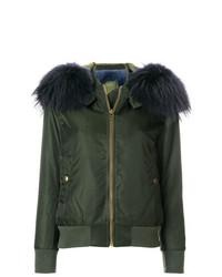 Detachable hood bomber jacket medium 8266519