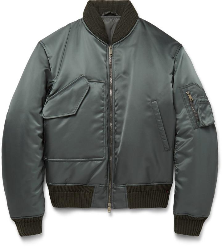 5bc7545bdbb ... Jil Sander Padded Shell Bomber Jacket ...