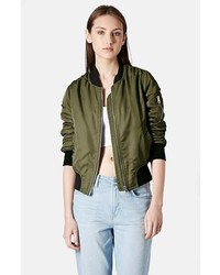 Women's Dark Green Bomber Jackets from Nordstrom | Women's Fashion