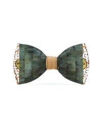 Brackish & Bell Gatsby Feather Bow Tie