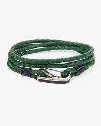 Ted Baker Lunate Leather Wrap Around Bracelet