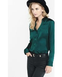 Original Fit Silky Crepe Portofino Shirt