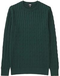 Uniqlo Cable Crewneck Sweater