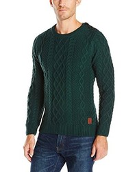 Scotch & Soda Cable Knitted Crew Neck