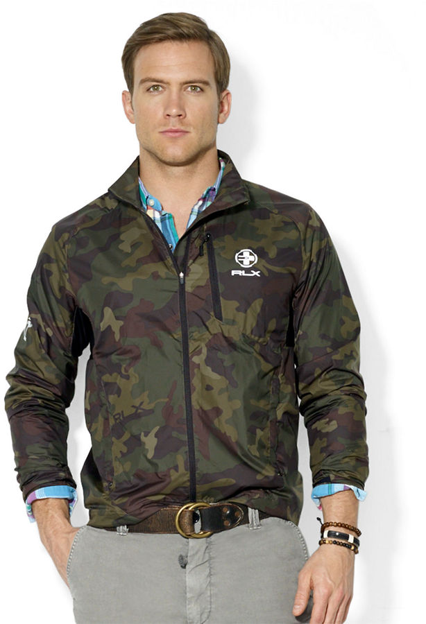 08f8f7197a92d Polo Ralph Lauren Rlx Packable Trailwind Camouflage Jacket, $225 ...
