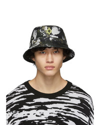 Marcelo Burlon County of Milan Green Camouflage Bucket Hat