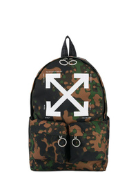 Off-White Camouflage Arrow Backpack