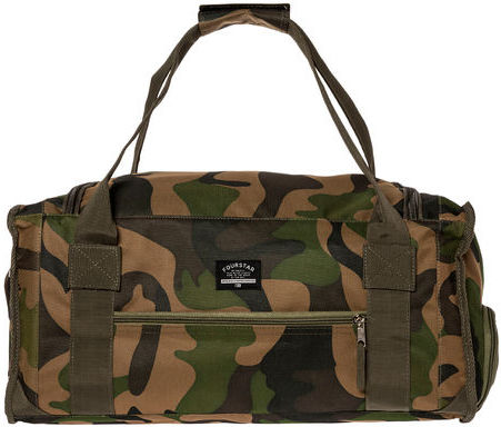 Camo Fourstar Clothing The Rambler Duffle Bag In