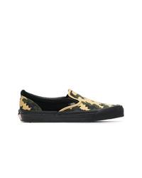 Vans Camo Slip On Canvas Sneakers