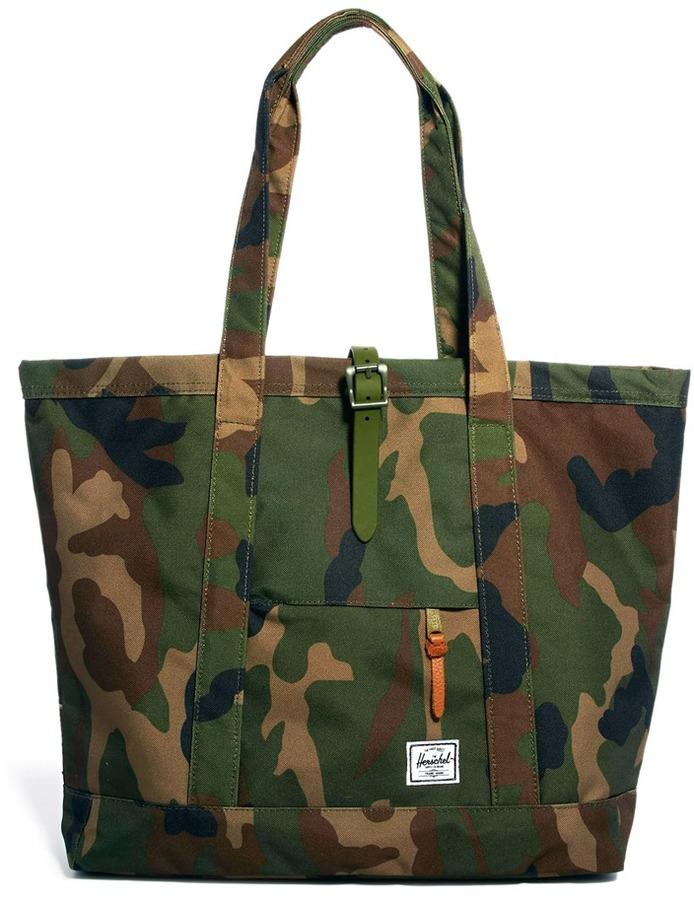Herschel Market Xl Tote Bag Green
